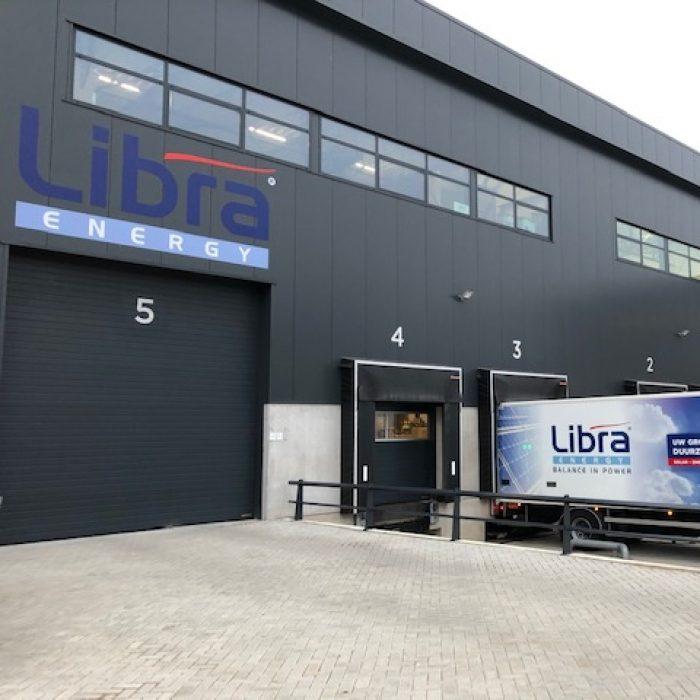 Het Libra Energy magazijn is verhuisd