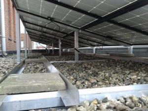 Installatie van Solaria PV met maatwerkframe 2