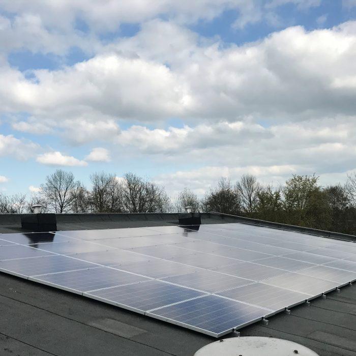 Recreatiepark Bloemketerp voorzien van 630 zonnepanelen
