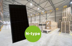 Zonnepaneel met N-type zonnecel wint snel terrein 1